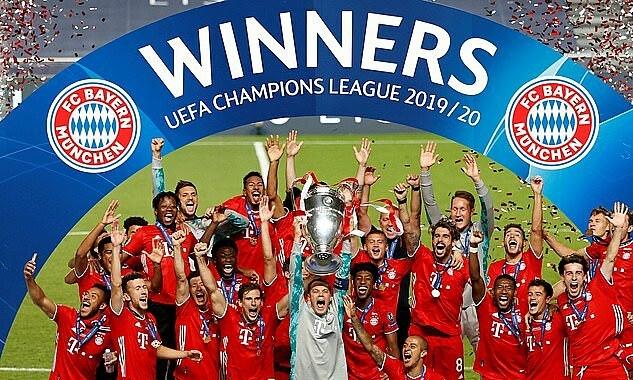 Bayern có thể hụt hơn 10 triệu USD tiền thưởng vô địch Champions League, vì Covid-19. Ảnh: Reuters