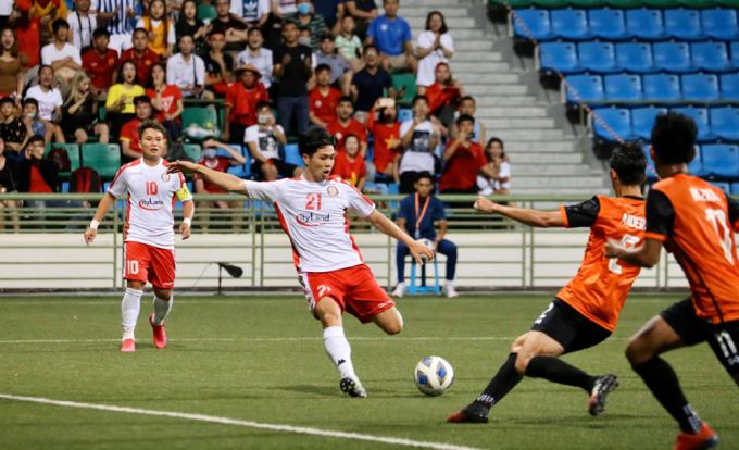 Công Phượng và CLB TP HCM đang thăng hoa tại AFC Cup thì giải bị huỷ.