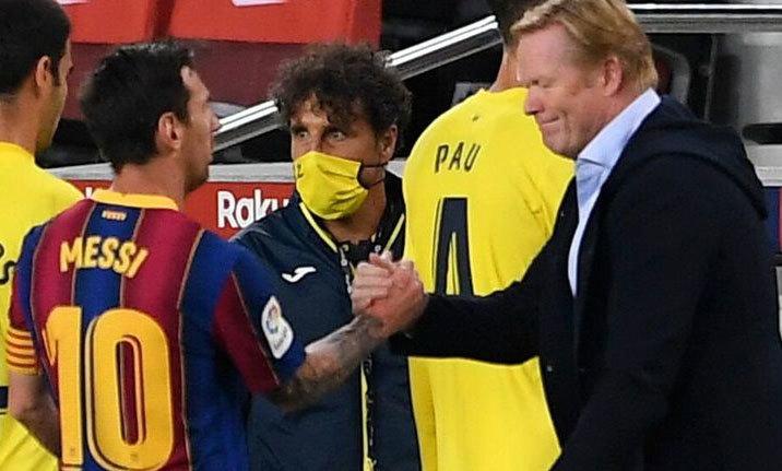 Koeman: 'Barca có thể chơi không cần số 9'