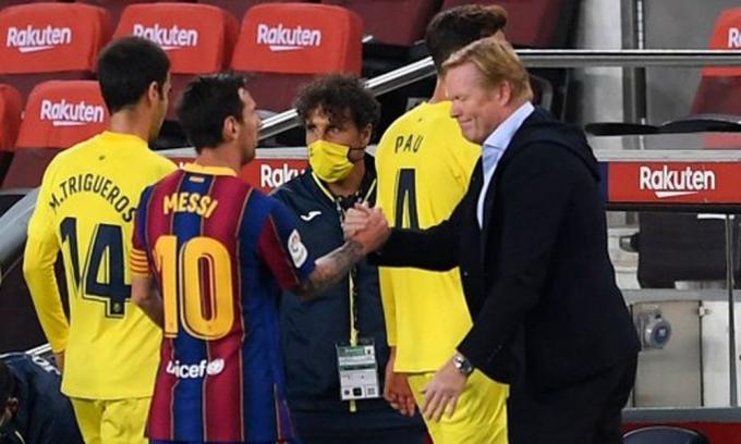 Sử dụng Messi theo cách hợp lý hơn là một bước đi của Koeman trong nỗ lực phục hưng Barca.