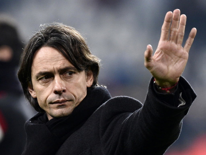 Inzaghi từng thất bại khi khởi nghiệp cầm quân đỉnh cao ở Milan. Ảnh: ACMilan