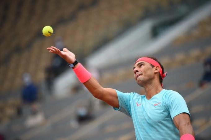 Nhà sản xuất không nghĩ trái bóng ảnh hưởng xấu đến màn trình diễn của Nadal. Ảnh: AP.