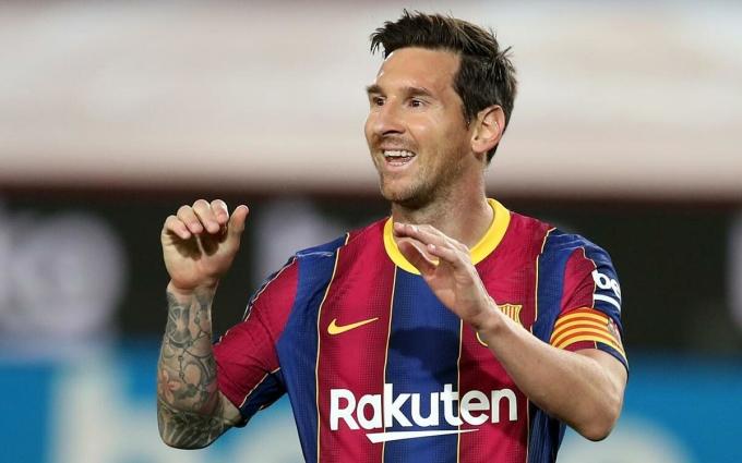 Messi ghi một bàn trong hai vòng La Liga đầu tiên. Ảnh: FCB.