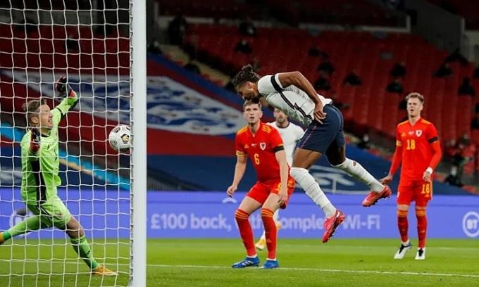 Calvert-Lewin duy trì phong độ cao ở CLB khi khoác áo tuyển Anh. Ảnh: Guardian.