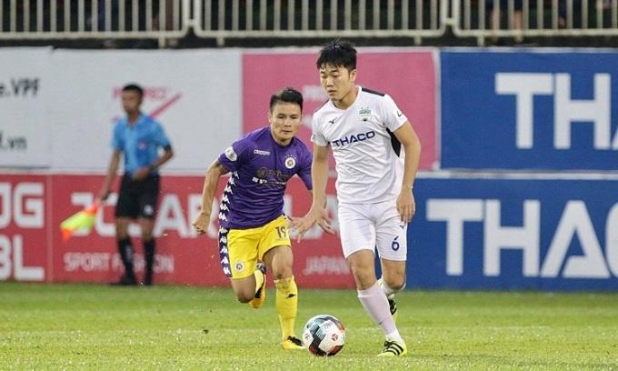 HAGL 0-0 Hà Nội (hiệp 1)