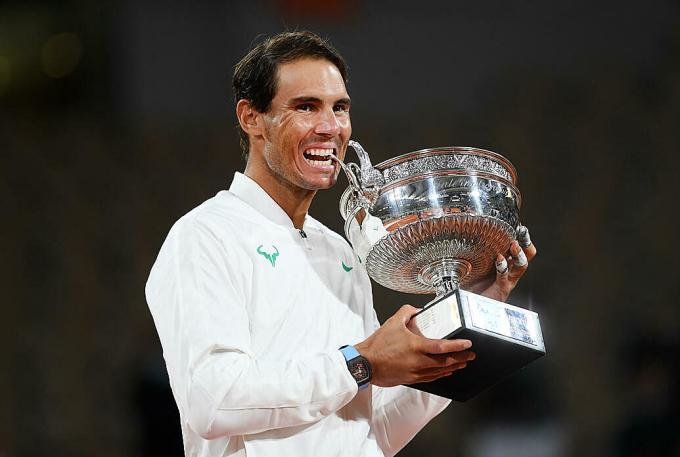 Nadal độc chiếm gần như mọi kỷ lục tại Roland Garros. Ảnh: AP.