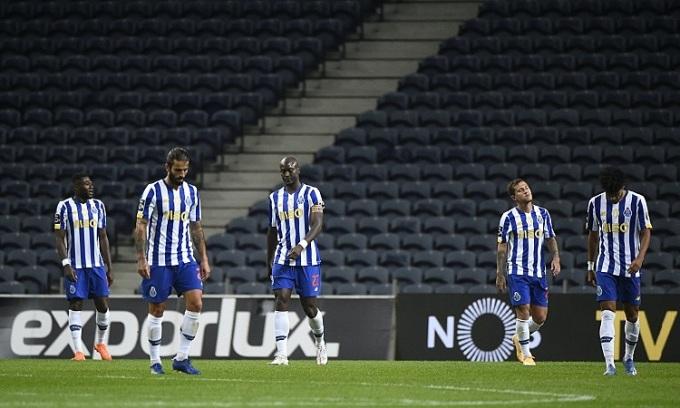 Porto khởi đầu mùa giải không tốt dù là nhà vô địch Bồ Đào Nha hai mùa gần nhất. Ảnh: AFP.