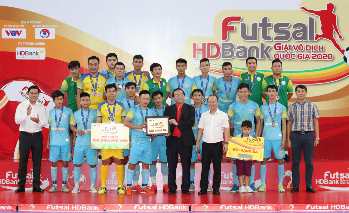 Thái Sơn Nam lần thứ 10 vô địch futsal Quốc gia