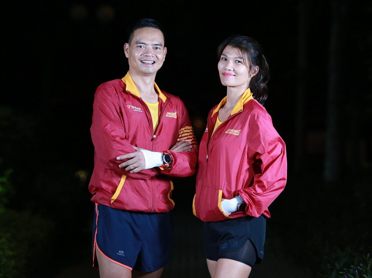 Phần thưởng đặc biệt cho finisher 42km giải chạy đêm Hà Nội