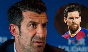 Figo\: 'Messi muốn đi, Barca sẽ chẳng thể giữ'
