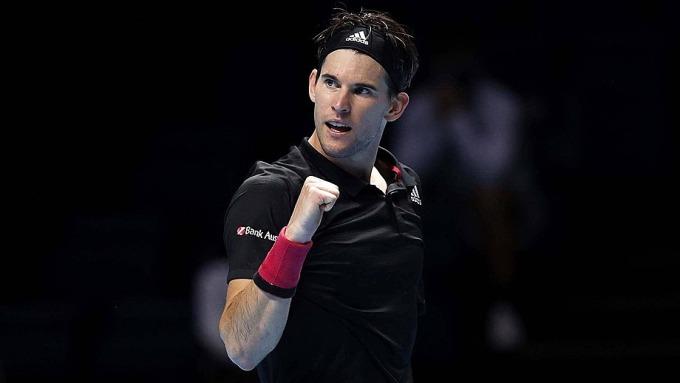 Thiem sớm giành vé vào bán kết. Ảnh: ATP.