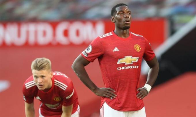 Man Utd mới giành được 10 điểm sau bảy trận ở Ngoại hạng Anh mùa này. Ảnh: Reuters