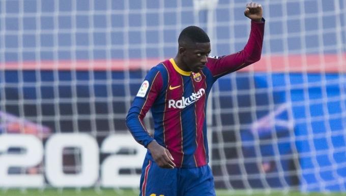 Dembele khiến Barca tiêu tốn số tiền khổng lồ trong bối cảnh đội chủ sân Camp Nou đang khủng hoảng tài chính. Ảnh: Mundo Deportivo.