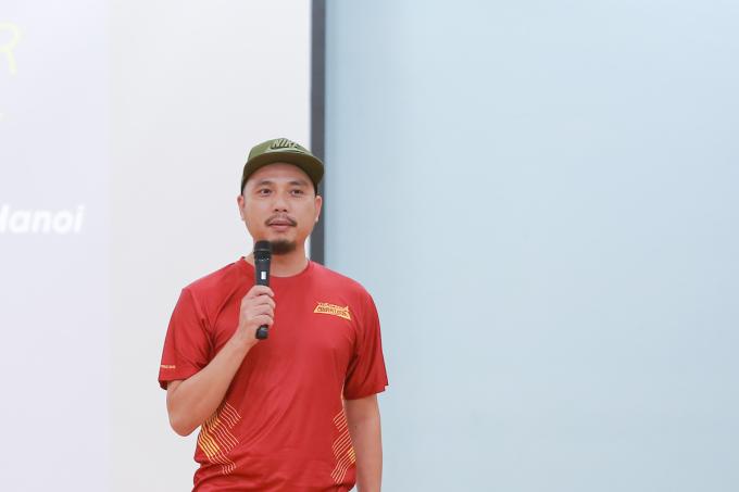 Ông Dương Đình Việt, Giám đốc đường chạy và sáng tạo VM Hà Nội Midnight.