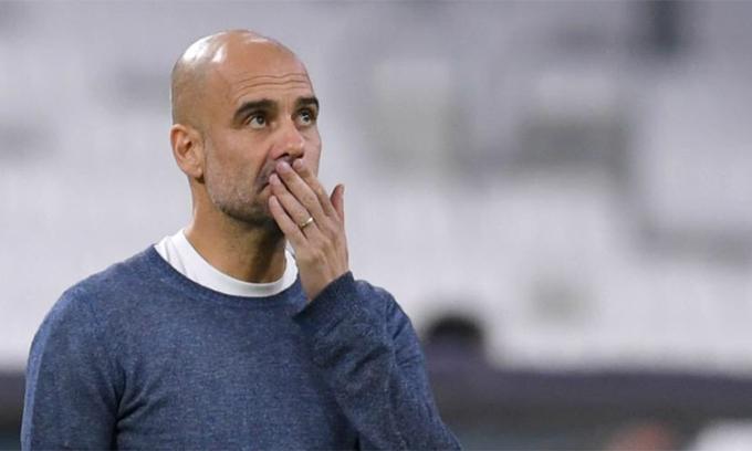Guardiola rất lạc quan vào kết quả của Man City tại Champions League mùa này. Ảnh: PA