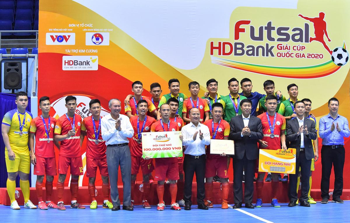 Những điều đọng lại sau giải Futsal Cúp Quốc gia