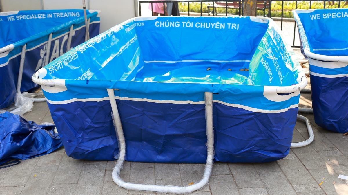 Loạt tiện ích phục vụ runner tại giải chạy đêm Hà Nội