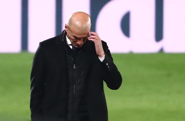 Zidane đã thua ba trong 10 trận đầu mùa La Liga 2020-2021. Ảnh: Reuters.