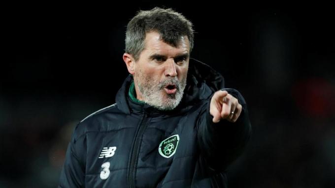 Roy Keane từng giành bảy Ngoại hạng Anh và một Champions League khi còn chơi cho Man Utd. Ảnh: Reuters.