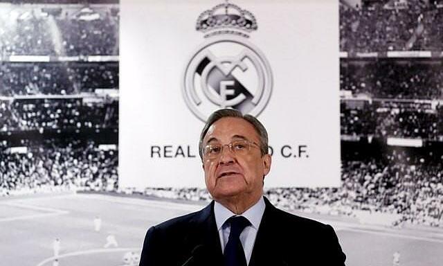 Dưới sự lãnh đạo của Chủ tịch Florentino Perez, Real vẫn báo lãi dù chưa đến một triệu USD. Ảnh: Reuters