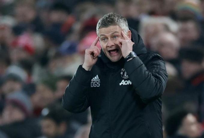 Solskjaer vẫn chưa có danh hiệu nào cùng Man Utd, dù lọt vào ba trận bán kết mùa trước. Ảnh: Reuters.