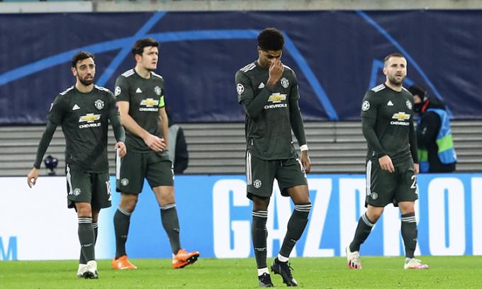 Kết quả bốc thăm Europa League không có lợi cho Man Utd. Ảnh: REX.