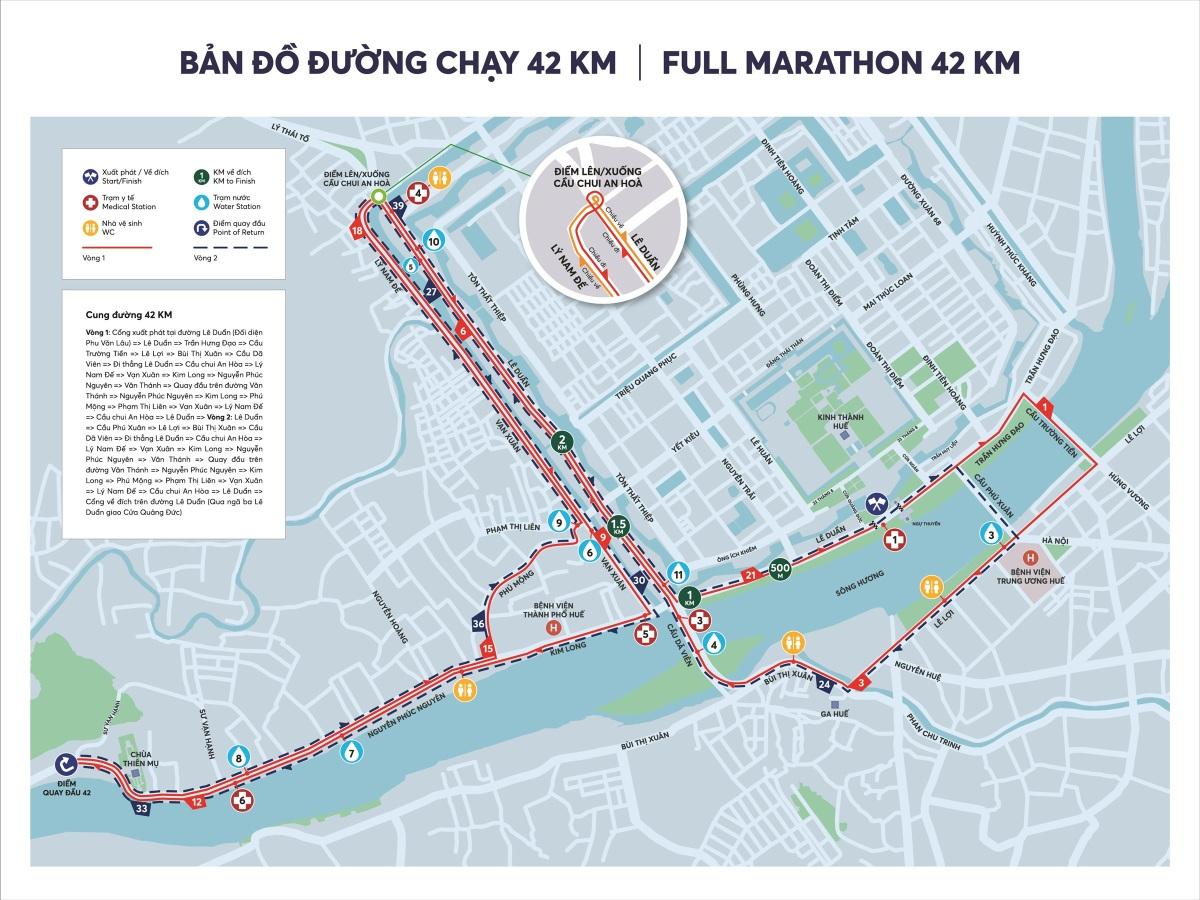 VnExpress Marathon Huế công bố cung đường chạy