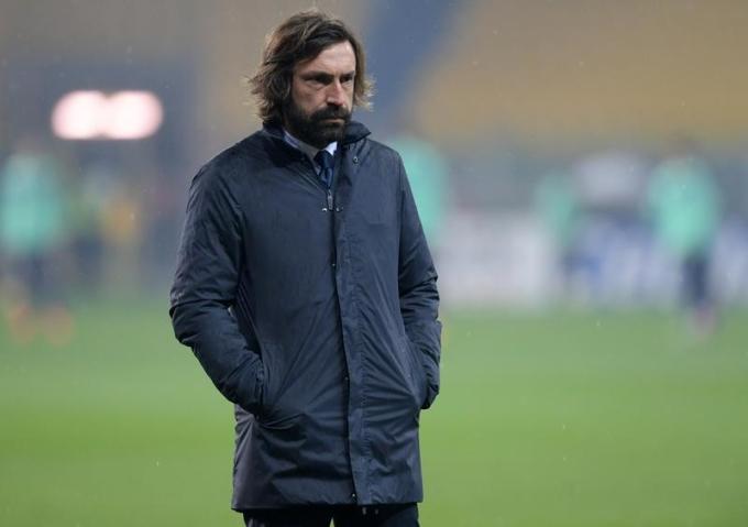 Pirlo thắng bảy và hòa sáu trong 13 trận đầu Serie A. Ảnh: Reuters.