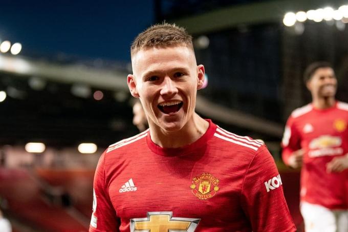 Cả mùa trước, McTominay chỉ ghi bốn bàn sau 27 trận Ngoại hạng Anh. Ảnh: Standard.