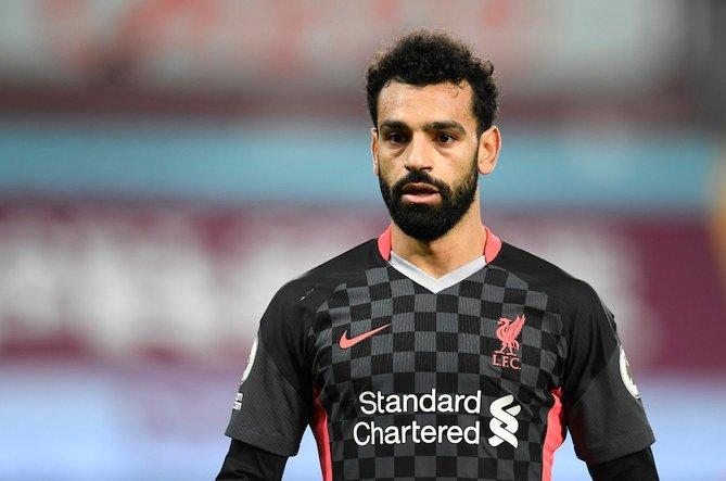 Salah đã ghi 110 bàn trong 173 trận khoác áo Liverpool. Ảnh: Reuters.
