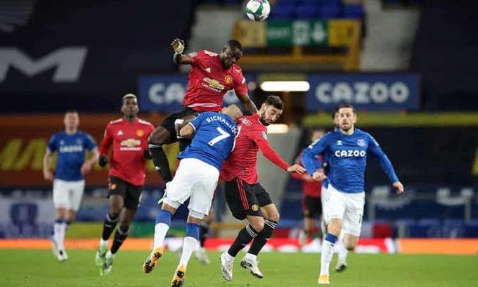 Bailly giúp Man Utd giữ sạch lưới trong lần hiếm hoi được đá chính. Ảnh: PA.