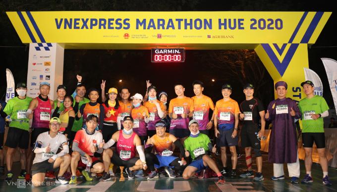 Giải chạy VnExpress Marathon chuẩn bị xuất phát