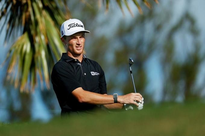 Zalatoris đang tiến rất gần tới việc giành thẻ thành viên chính thức của PGA Tour, theo đà thăng tiến ngoạn mục trong năm 2020. Ảnh: Golf Digest