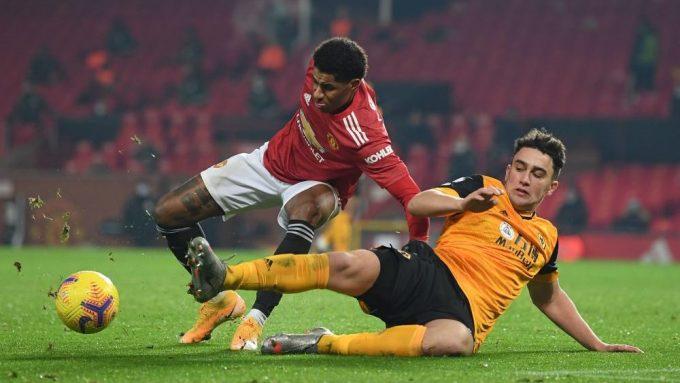 Man Utd lần đầu thắng Wolves kể từ năm 2018. Ảnh: AFP.