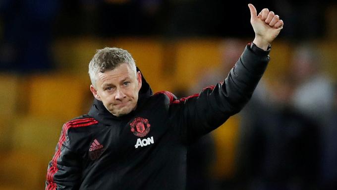 Solskjaer và các học trò đang trong mạch chín trận bất bại tại Ngoại hạng Anh, thắng bảy, hoà hai kể từ đầu tháng 11. Ảnh: Reuters