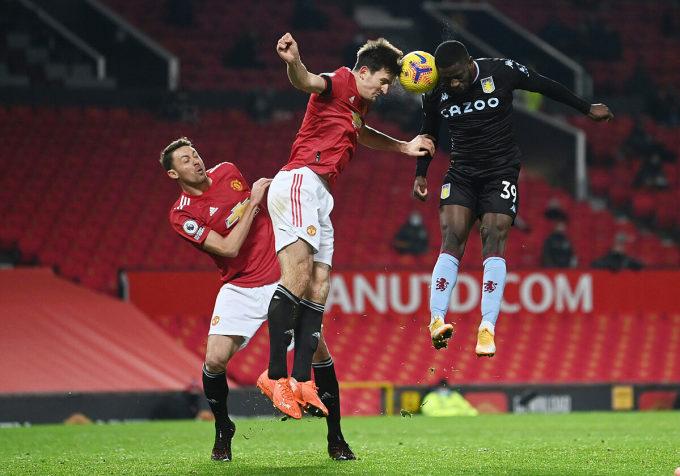 Chiến thắng nhọc nhằn trước Aston Villa là một bằng chứng nữa cho thấy tinh thần vượt khó của Man Utd. Ảnh: Reuters
