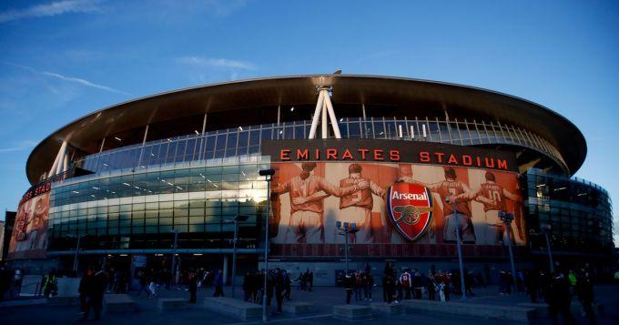 Khán giả không thể vào sân làm giảm đáng kể doanh thu của Arsenal trong năm 2020. Ảnh: ESPN.