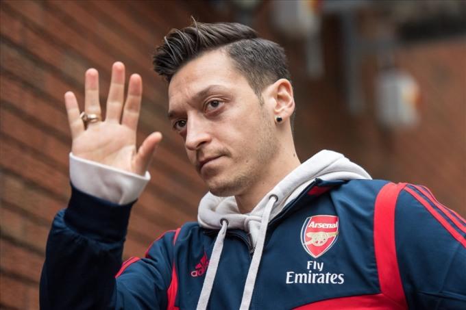 Ozil đã chơi 254 trận và ghi 44 bàn cho Arsenal, từ khi gia nhập CLB hè 2013. Ảnh: Goal.