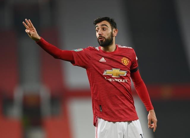 Fernandes ghi 27 bàn trong 47 trận cho Man Utd, dù chơi ở vị trí tiền vệ. Ảnh: Reuters.