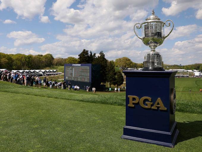 PGA Championship sẽ không diễn ra trên sân Trump National trong năm 2022. Ảnh: PGAA