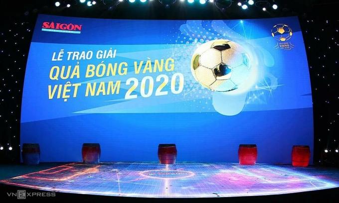 Trao Quả Bóng Vàng Việt Nam 2020