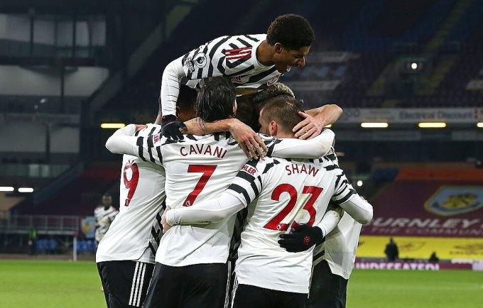 Man Utd là đội duy nhất bất bại sân khách ở Ngoại hạng Anh mùa này, với bảy trận thắng, một trận hòa. Ảnh: MUFC.
