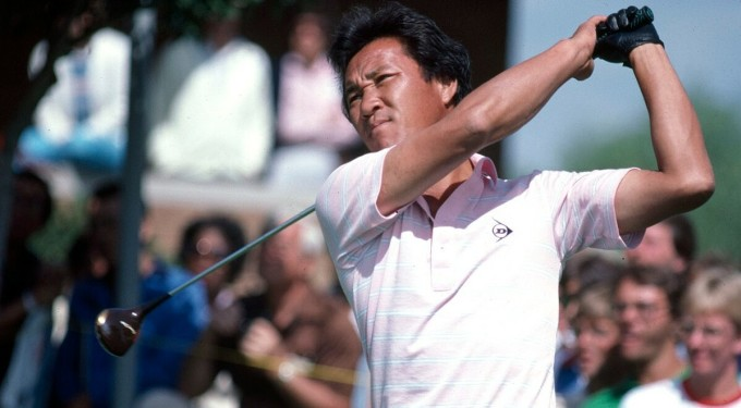 Aoki là golfer Nhật Bản đầu tiên đăng quang ở PGA Tour khi thắng Sony Open lúc sự kiện còn mang tên Hawaiian Open năm 1983. Ảnh: PGA Tour