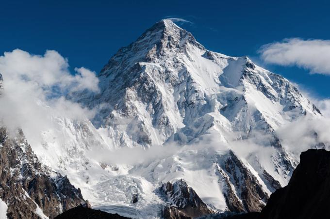 Chinh phục K2 vào mùa đông từng là việc bất khả thi với giới leo núi hàng chục năm nay. Ảnh: NatGeo