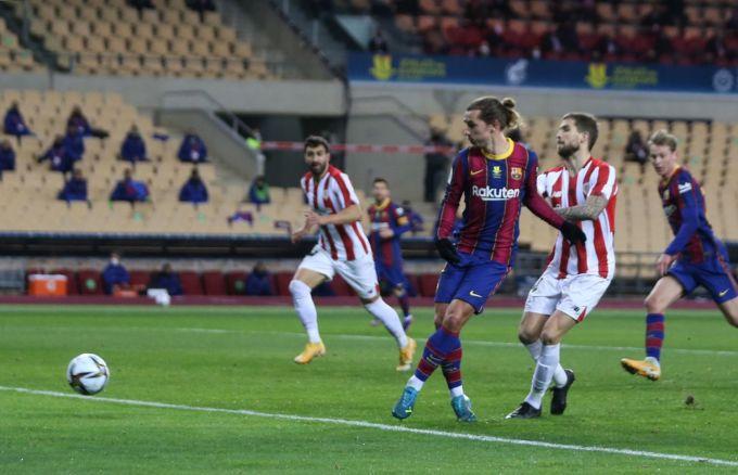 Griezmann muốn làm thủ lĩnh của Barca, nhưng anh chưa đủ vai vế trong đội để đảm nhiệm vai trò ấy. Ảnh: El Pais