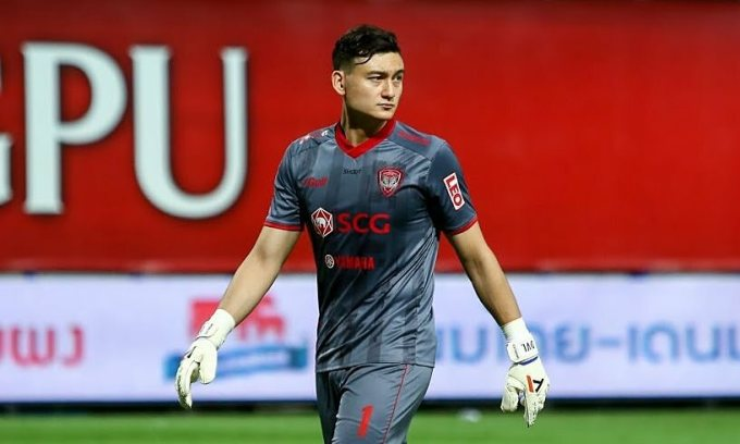 Muangthong chi 500.000 USD để chiêu mộ Văn Lâm từ Hải Phòng vào tháng 6/2019. Ảnh: Goal Thailand