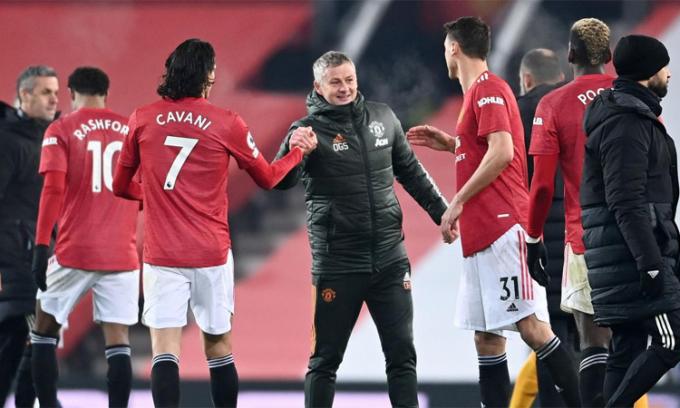 Rooney tin tưởng vào chất lượng đội hình hiện tại của Man Utd. Ảnh: Reuters.