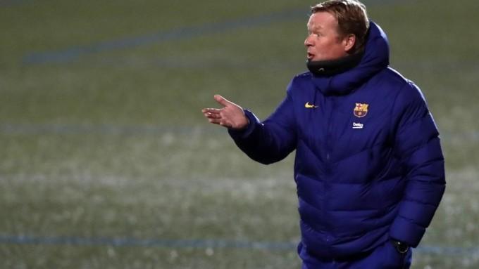 Koeman nổi giận với chiến thắng chật vật trước đối thủ hạng ba. Ảnh: Marca.