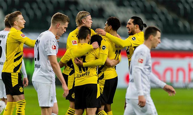 M'gladbach 4-2 Dortmund