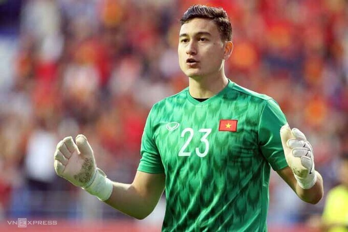 Văn Lâm có hợp đồng với Muangthong đến tháng 5/2022. Ảnh: Anh Khoa.